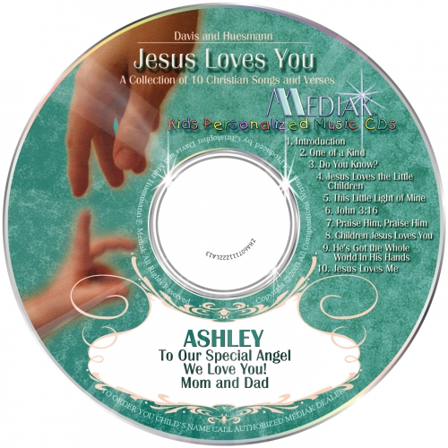 Jesus Loves You - CD