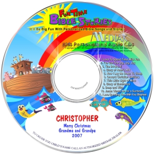 Fun Time Bible Stories - CD